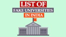 UGC Fake University List