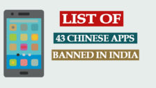 List of 43 Chinese Apps Banned in India