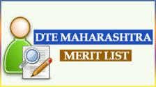 DTE Maharashtra Merit List 2021 at dtemaharashtra.gov.in.
