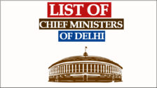 Delhi CM List Party Wise from 1952 to 2021