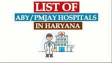 Ayushman Bharat Hospitals List Haryana