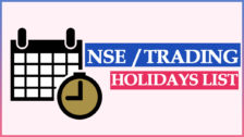 NSE Holidays List 2021   Trading Holidays – NSE, BSE, MCX