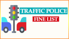 Delhi Traffic Police Challan Rates List 2021