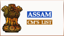 Assam Chief Ministers List Since 1946 to 2021