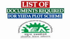 List of Documents Required for YEIDA Plots Scheme