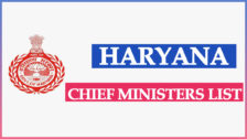 Haryana Chief Ministers List