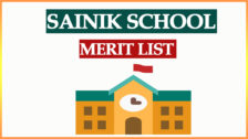 Sainik School Merit List 2021 Entrance Exam Result for Class 6th and 9th