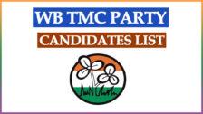TMC Party Candidates List 2021 PDF West Bengal Election