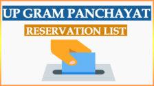 UP Gram Panchayat Reservation List 2021 | Uttar Pradesh Panchayat Chunav Aarakshan Seat List