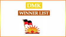 DMK Winning List 2021 Tamil Nadu Election