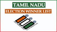 Tamil Nadu Election Winner List 2021